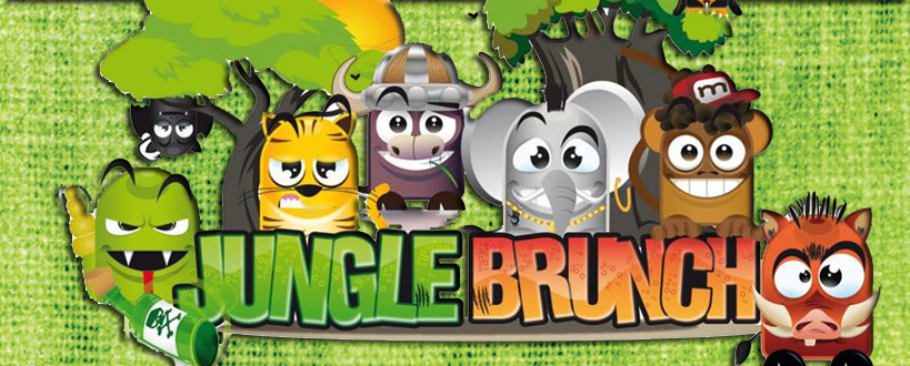 Jungle Brunch Banner